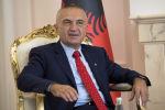 Президент Албании Илир Мета, фото из архива
