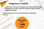 İnfoqrafika: Məşğulluq və işsizlik