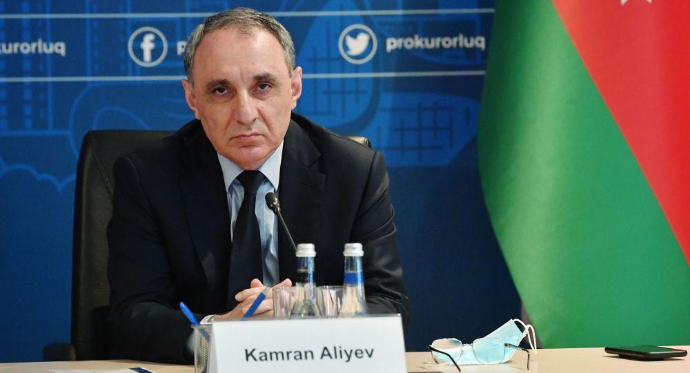 Генеральный прокурор АР Кямран Алиев, фото из архива