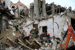 Последствия обстрелов в Гяндже