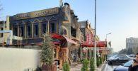 Пожар в ресторане на улице Алияра Алиева в Наримановском районе города Баку