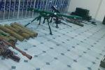 Оружие и боеприпасы, брошенные ВС Армении