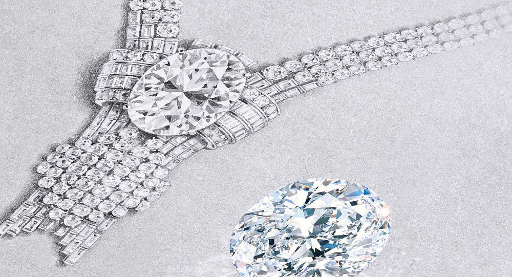 Tiffany заявляет о покупке исключительного 80-каратного бриллианта