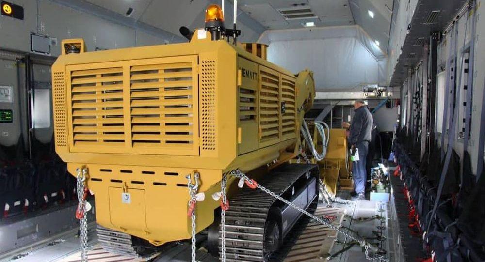Двадцать турецких машин механического разминирования (MEMATT) поставляются в Азербайджан