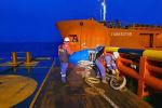 Грузовое судно Туркестан