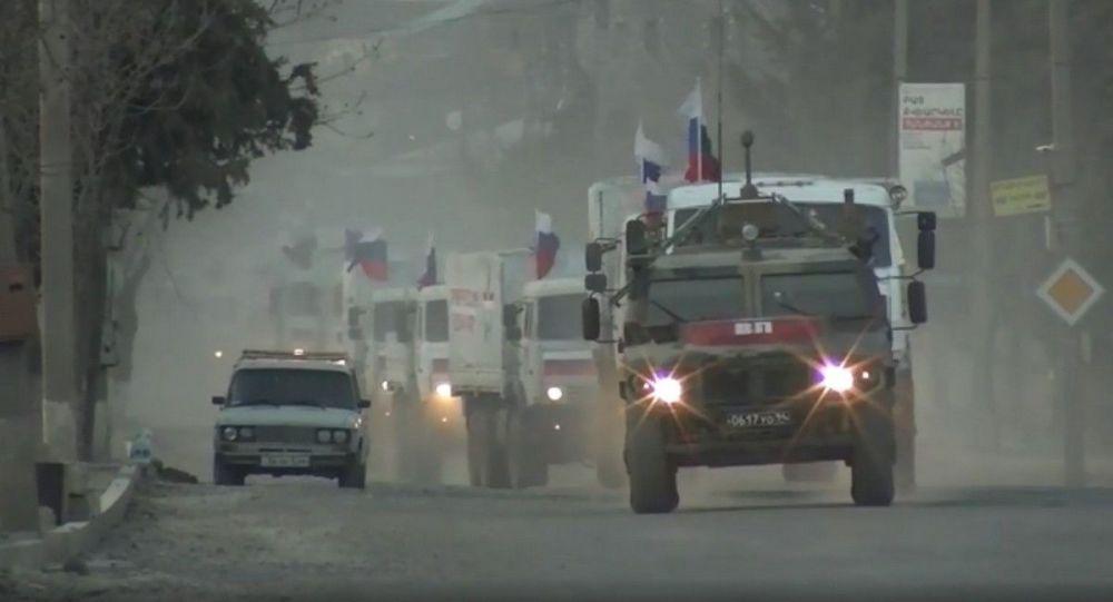 Российские миротворцы обеспечивают транзит грузов в Карабахе