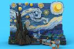 Lego выпустят конструктор «Звездной ночи» Ван Гога из 1552 деталей