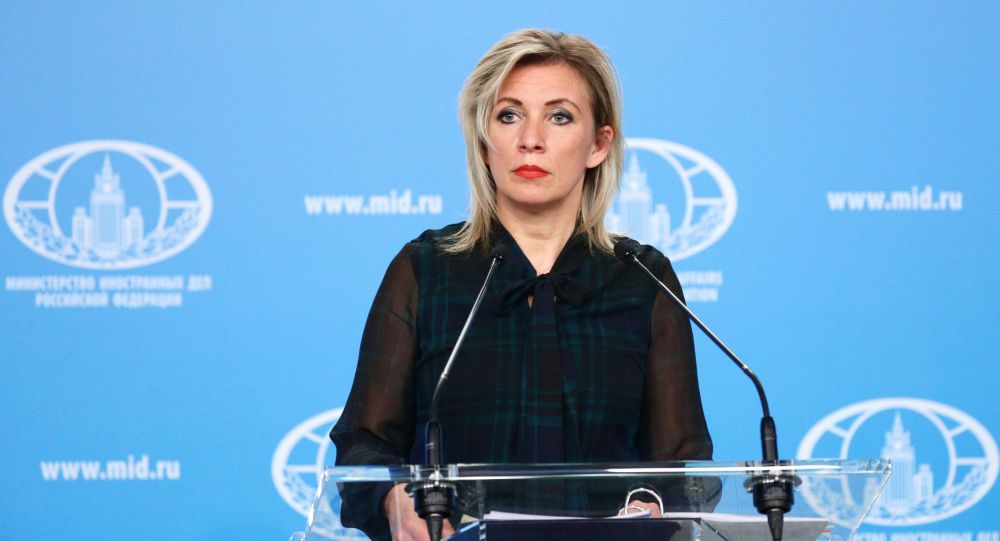 Rusiya XİN-nin rəsmi nümayəndəsi Mariya Zaxarova, arxiv şəkli