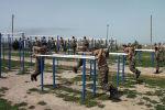 Подготовка молодых солдат в армии