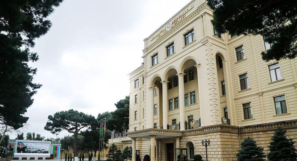 Здание Министерства Обороны Азербайджана, фото из архива