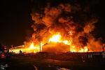 Пожар на НПЗ в Тегеране