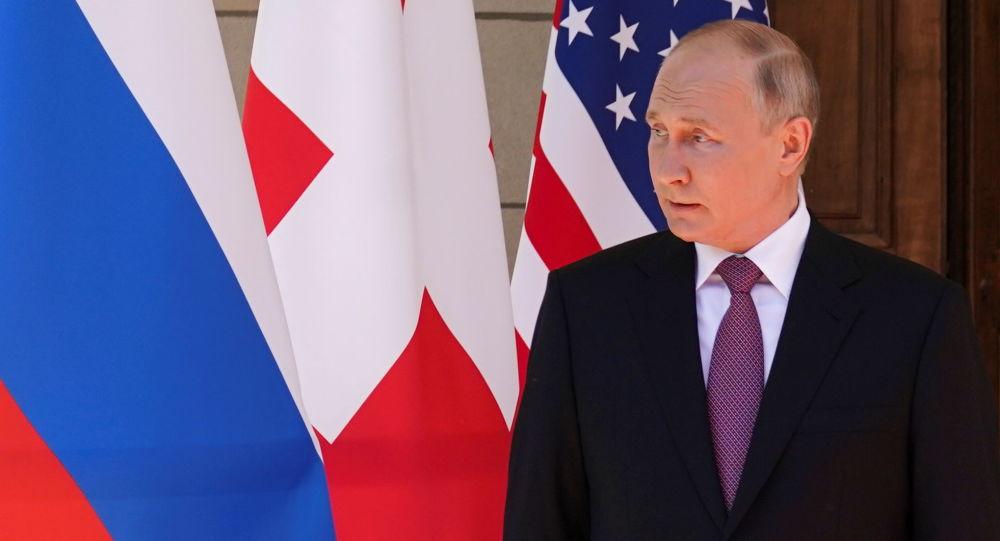 Vladimir Putin Cenevrədə, 16 iyun 2021-ci il