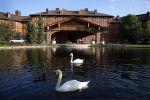 Гостиница в городе Сан-Валли в преддверии конференции Allen & Company, Айдахо