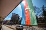 Флаг Азербайджана на одном из зданий в Шуше, фото из архива