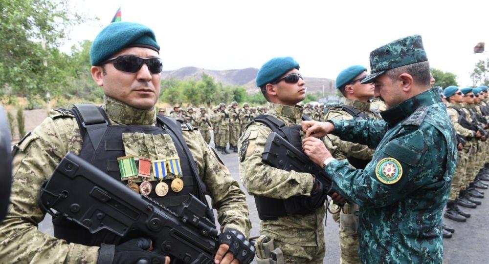 Qubadlı və Laçın rayonlarında DSX-nın iki yeni hərbi hissəsi xidmətinin istifadəyə verilmə mərasimi
