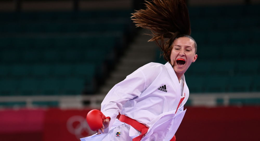 Azərbaycanlı karateçi İrina Zaretska