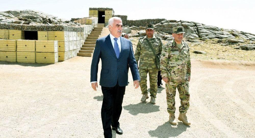 Naxçıvan Muxtar Respublikasının strateji yüksəkliklərində müdafiə istehkamları möhkəmləndirilib