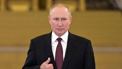 Vladimir Putin, arxiv şəkli
