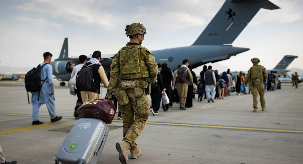 Avstraliyalı hərbi qulluqçu Kabil hava limanında