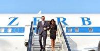 Ильхам и Мехрибан Алиевы прибыли в Брюссель