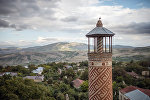 Минарет мечети в городе Шуша, фото из архива
