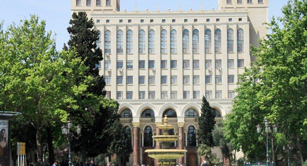 Национальная Академия Наук Азербайджана, фото из архива