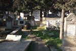 Кладбище в Баку, фото из архива