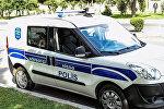 Автомобиль дежурной части полиции в Баку. Архивное фото