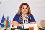 Глава Государственного комитета по проблемам семьи, женщин и детей Хиджран Гусейнова