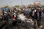Один из взрывов прогремел в пригороде Багдада городе Ас-Садр