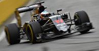 McLaren Honda F1 komandasının ispan pilotu Fernando Alonso