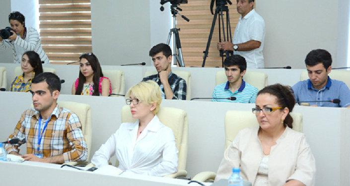 Совет общественного контроля UNEC провел пресс-конференцию по итогам летней экзаменационной сессии