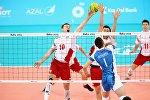 Члены мужской национальной сборной Азербайджана по волейболу