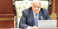 Председатель Милли Меджлиса Огтай Асадов, фото из архива