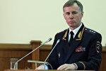 Первый заместитель министра внутренних дел РФ Александр Горовой