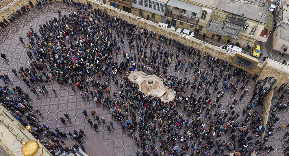 День Ашуры в столичной мечети Тезепир
