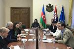 Встреча министра экономики Азербайджана Шахина Мустафаева с премьер-министром Сербии Александром Вучичем