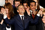 Николя Саркози во время избирательной кампании в Марселе, Франция, 27 октября 2016 года