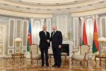 Встреча президентов Беларуси и Азербайджана Александра Лукашенко и Ильхама Алиева, фото из архива