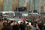 Митинг сторонников экс-президента Армении Левона Тер-Петросяна в центре Еревана, фото из архива