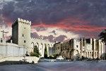 Avinyondakı (Fransa) Papa sarayı, arxiv şəkli