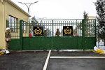 В прифронтовой зоне сдан в эксплуатацию новый военный городок