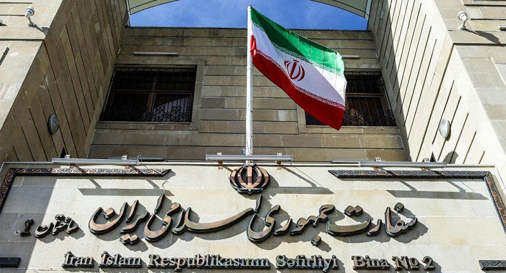 Bakıda İranın səfirliyi, arxiv şəkli