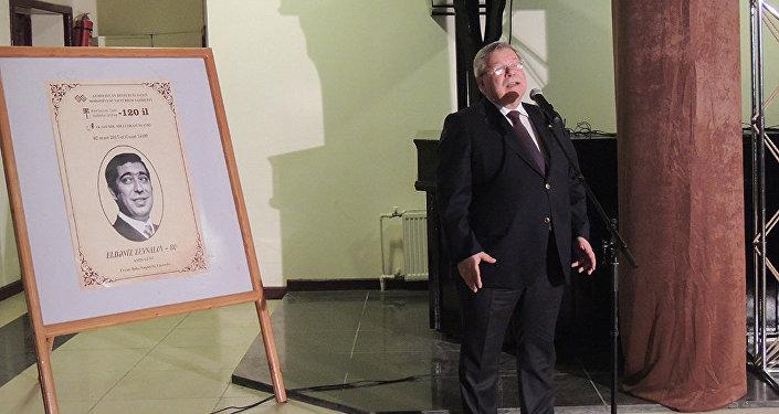 Юбилей народного артиста Эльдениза Зейналова в Союзе театральных деятелей