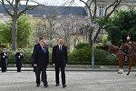 Ильхам Алиев встретился с председателем Сената Франции