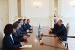İlham Əliyev Rusiyanın Stavropol vilayətinin qubernatorunun başçılıq etdiyi nümayəndə heyətini qəbul edib