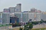 Вид на город Минск