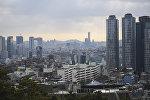 Столица Южной Кореи Сеул, архивное фото