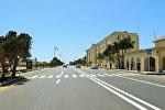 Улица Самеда Вургуна в поселке Пираллахи, фото из архива