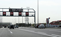 Аэропортовская трасса в Баку, фото из архива